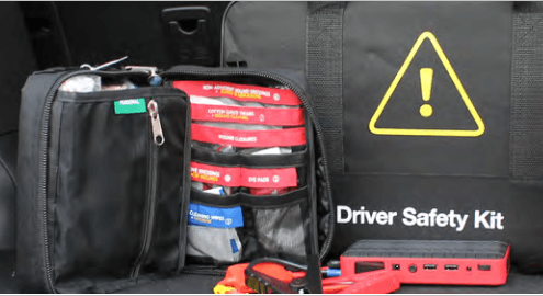 Complete driving safety kit
